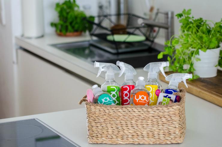Nachhaltige Reinigungsmittel von YOU