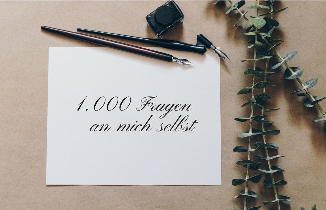 1.000 Fragen an dich selbst
