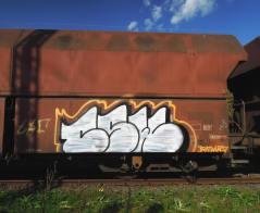 Grüß dich mei Güder(zug). Kunst und so - Grüß dich mei Guder. Street Art. Graffiti Coburg. JDE TDN CSW GDMG!