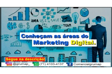 Áreas do Marketing Digital