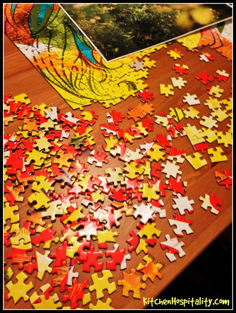 Christmas season puzzle messed up