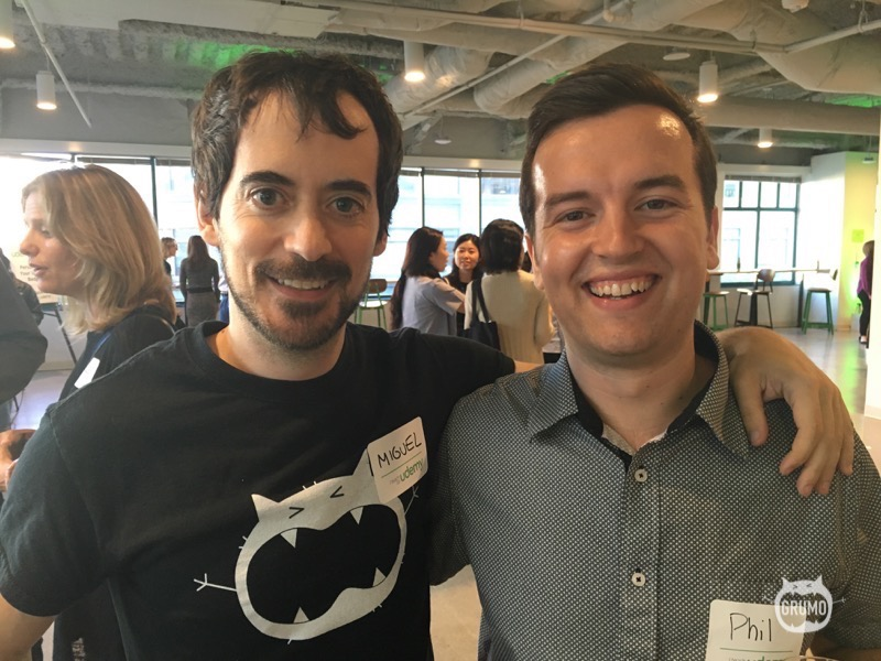 Meeting Phil Ebiner one of my students with more than 140K Udemy students