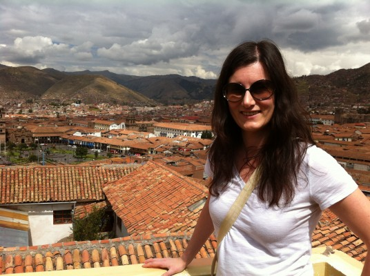 View from Kuska hostal in Cusco, Peru.