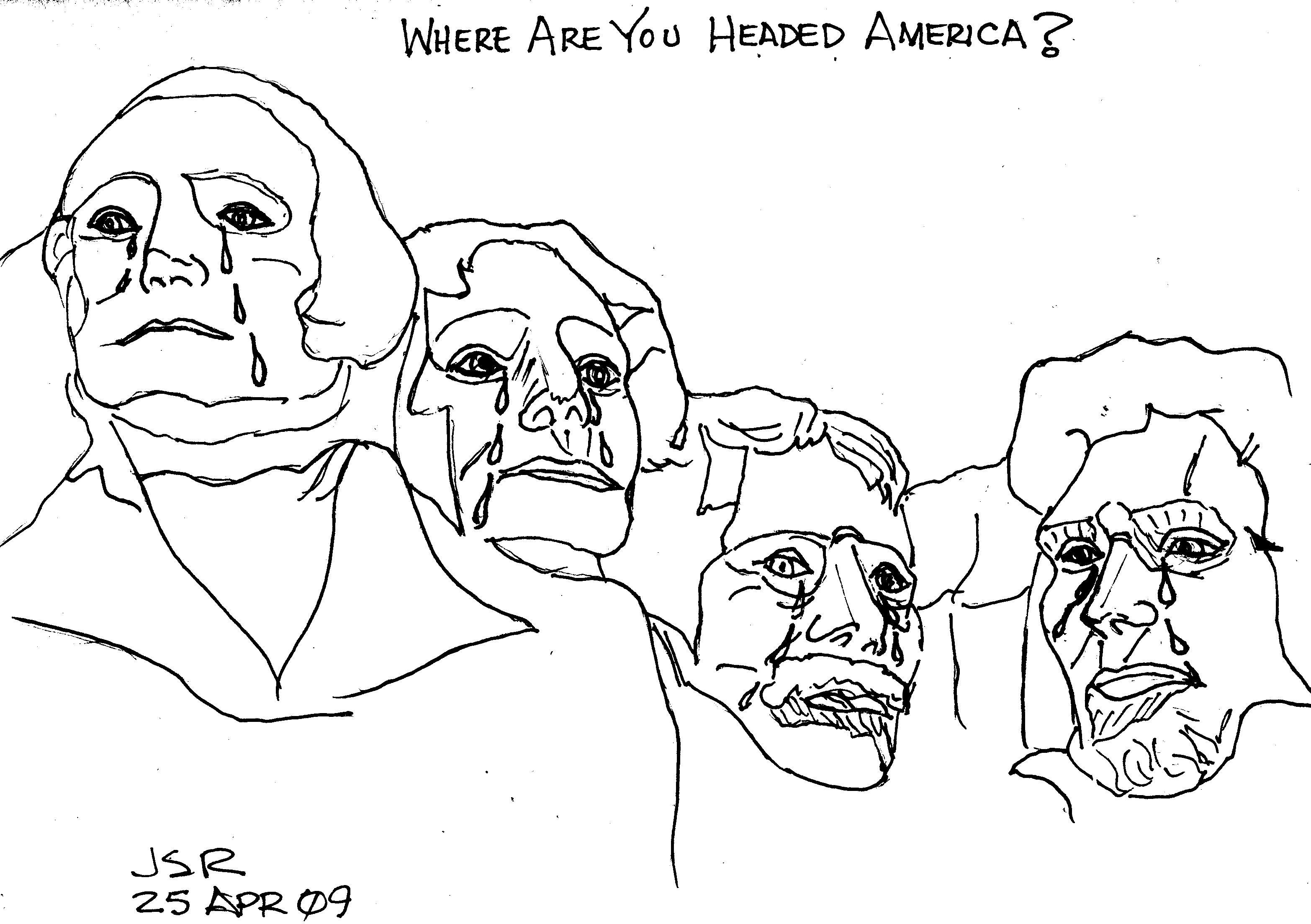 Mount Rushmore Weeps