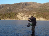 ca. 625 gr. Dagens største. Foto: Bjarne Heyerdahl-Sætrang