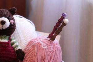 crochet, knitting, knitted