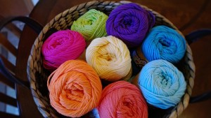 knitting, yarn, wool