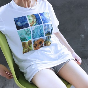 T-shirt Tumblr girl Van gogh