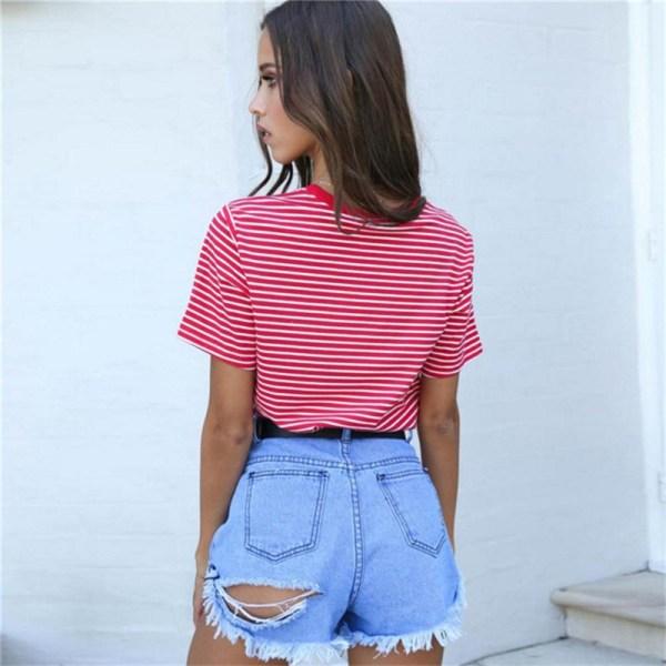 T-shirt Vintage Femme 90s vue de dos