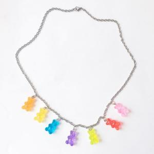Collier aesthetic Goldbers de différentes couleurs