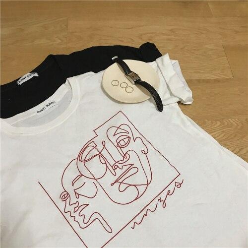 T-shirt Vsco - Art abstrait