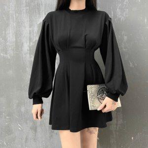Robe gothique - Longue noir