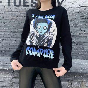 Pull noir grunge - I am not compiete