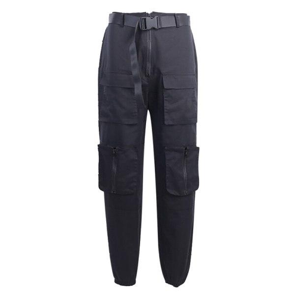 Jogging streetwear noir - Lanière