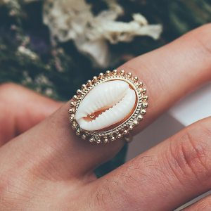 Bague vsco - Coquillage