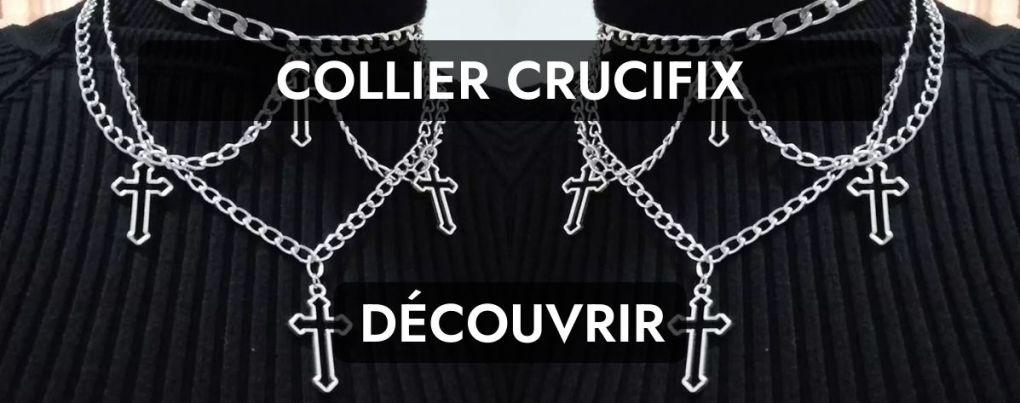 Collier gothique de mariée gothique