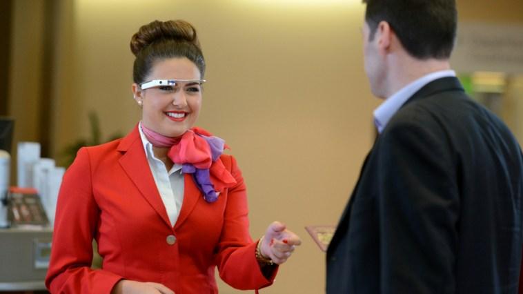 Virgin Atlantic x Google Glass