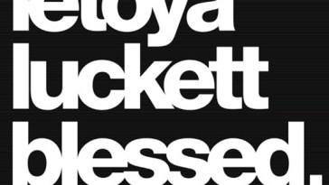 """LeToya Luckett's """"Blessed"""" cover art"""