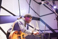 Jimi Nxir performs at The D.R.E.A.M. Project at National Sawdust in Brooklyn, NY, on 13 October, 2015.
