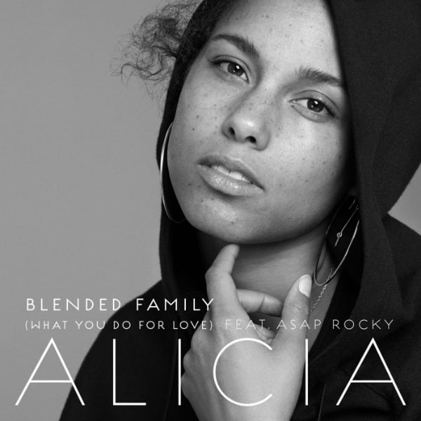 """Alicia Keys' """"Blended Family"""" cover art"""