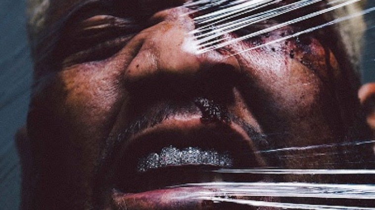 Carnage's Battered Bruised and Bloody album artwork
