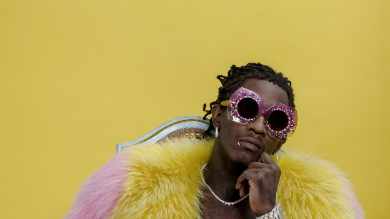Young Thug as Paintings