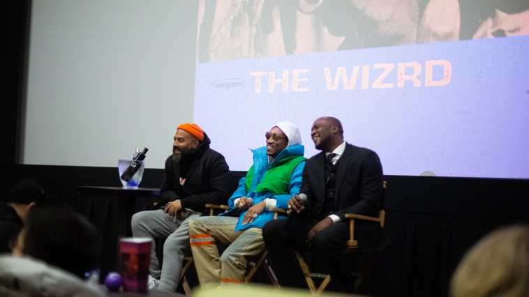 Future at The WIZRD documentary screening at iPic Theater in New York City