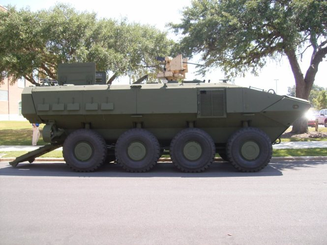 Upgradeable Armored Combat Vehicle