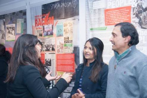 Strikers' families were present at the launch © Pete Webster/Grunwick 40