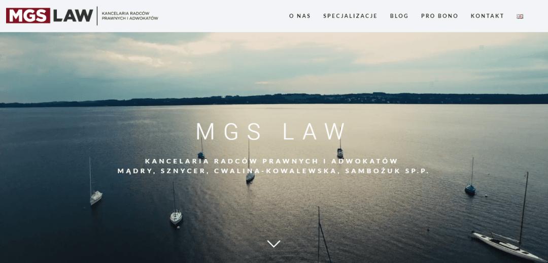 MGS Kancelaria Radców Prawnych i Adwokatów