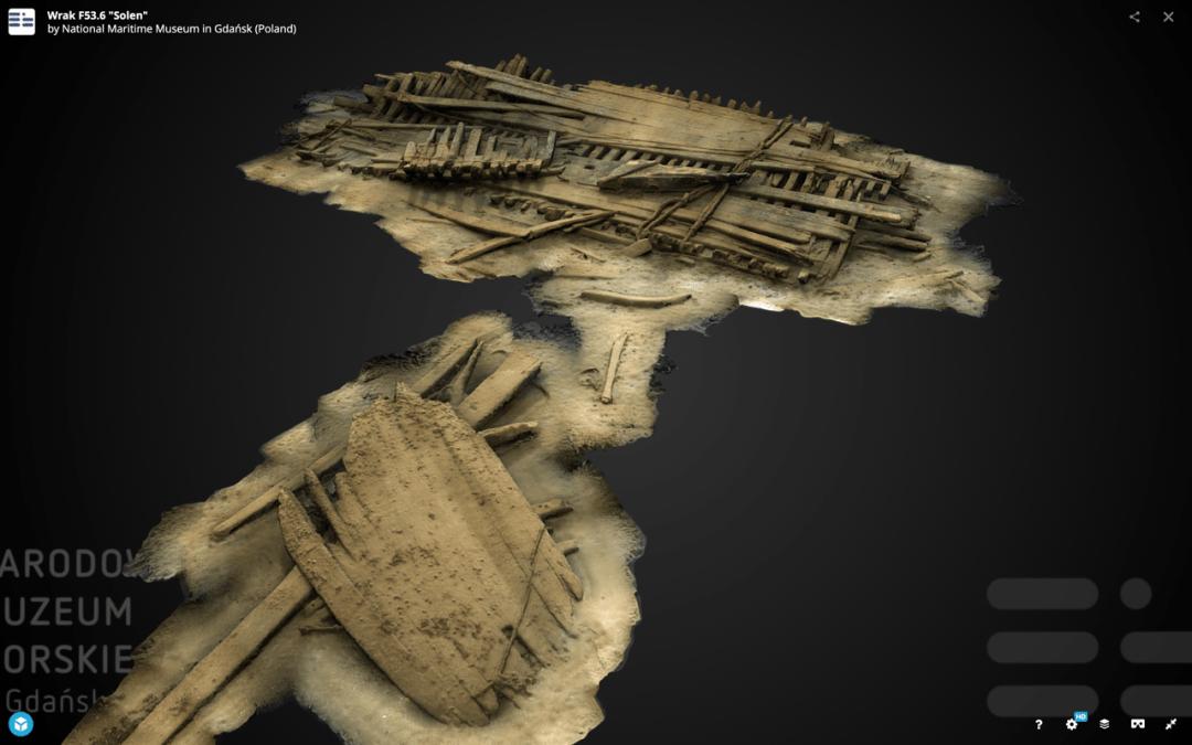 Narodowe Muzeum Morskie – fotogrametria i modele 3D
