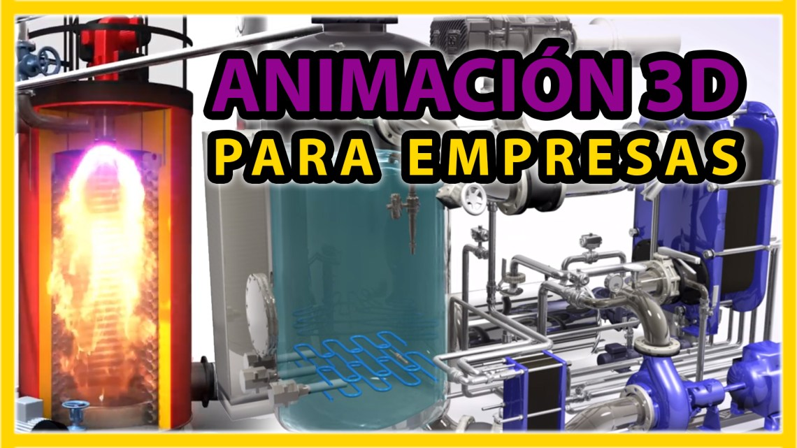 Animación 3D en los negocios - GrupoAudiovisual