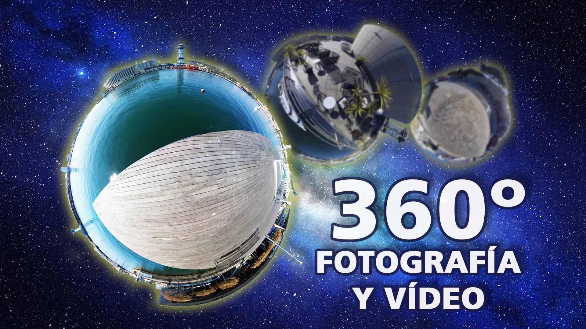 Fotografía y vídeo 360 grados - GrupoAudiovisual