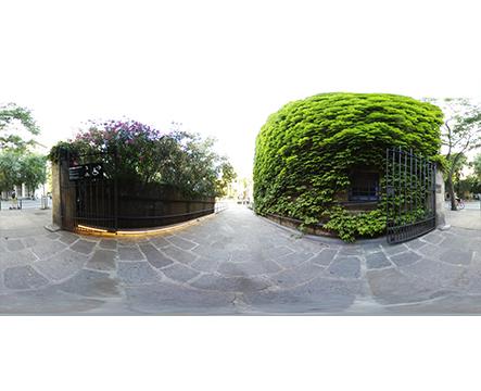 360 Barcelona Museo marítimo jardines 02 miniatura