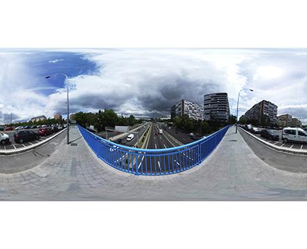 360 Madrid puente en Carretera M30 miniatura