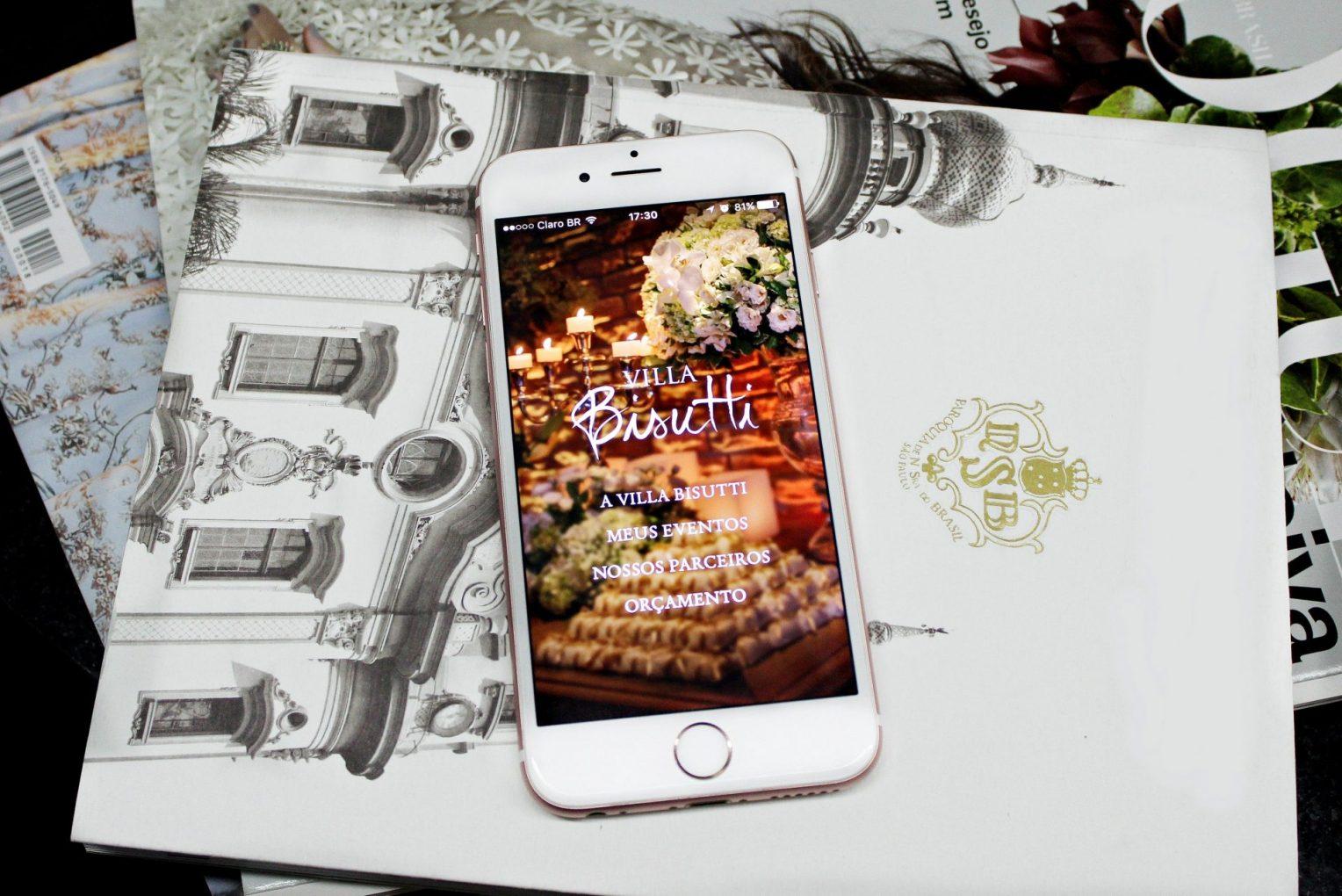 Já baixou o aplicativo Villa Bisutti em seu celular?