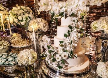 buffet para casamento detalhes