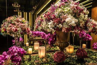 mesa decoração ultravioleta