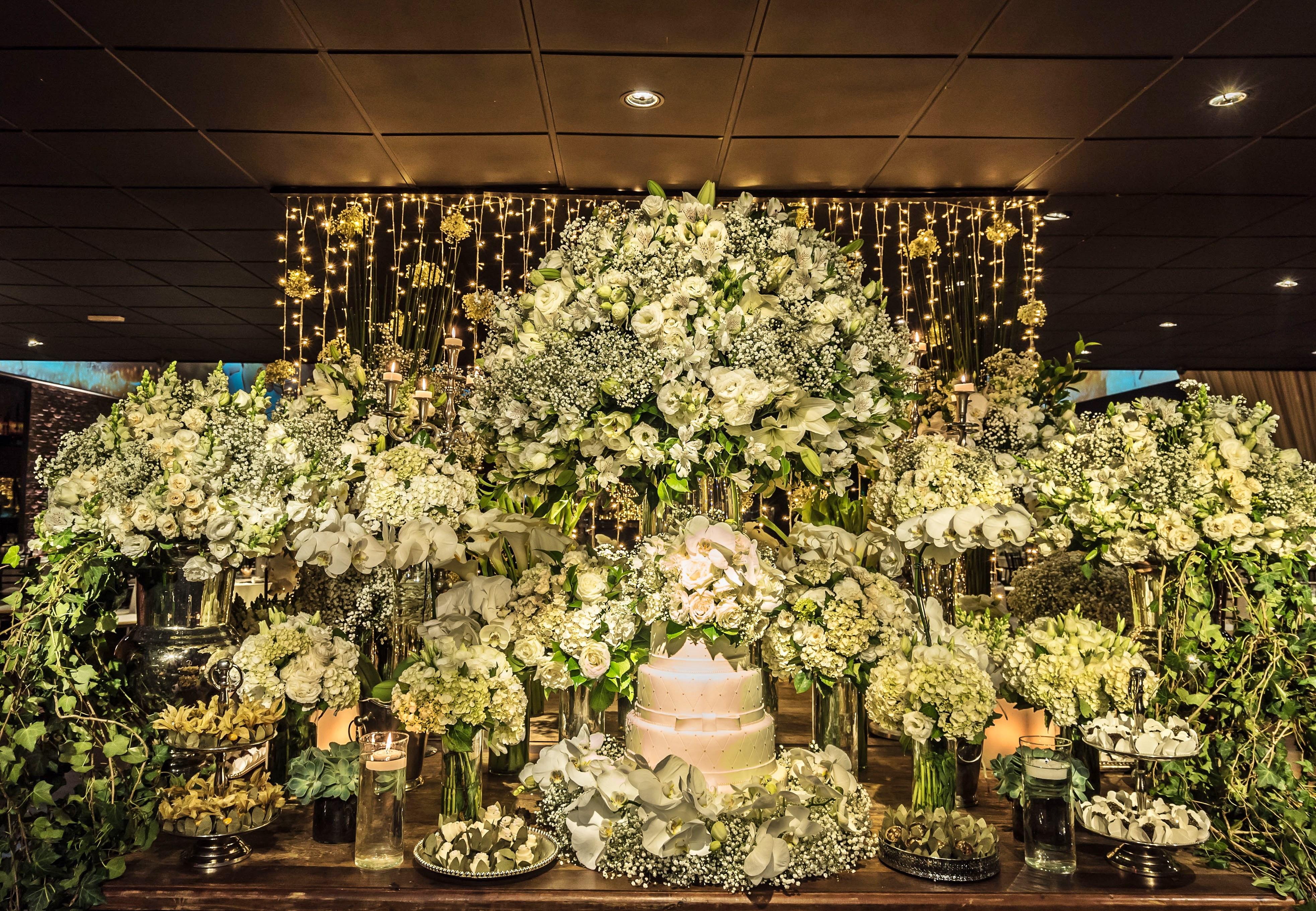 Decoração de casamento: O Clássico Verde e Branco