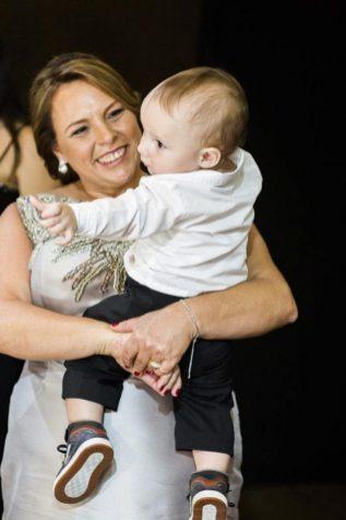 foto com bebê