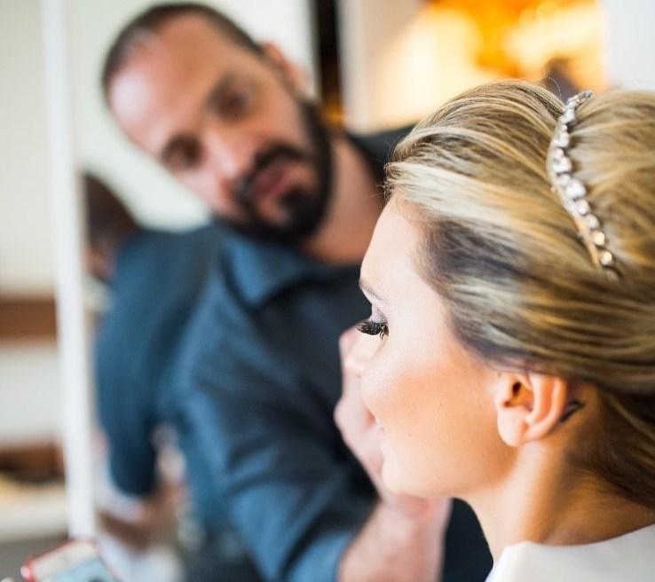 foto maquiagem de casamento