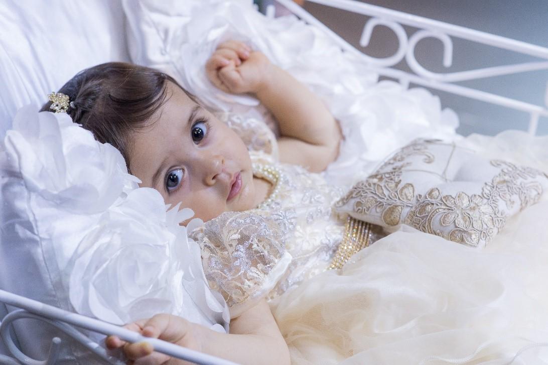 Bebês como daminhas ou pajens