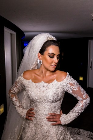 Vestido de noiva Foto: Torin Zanette