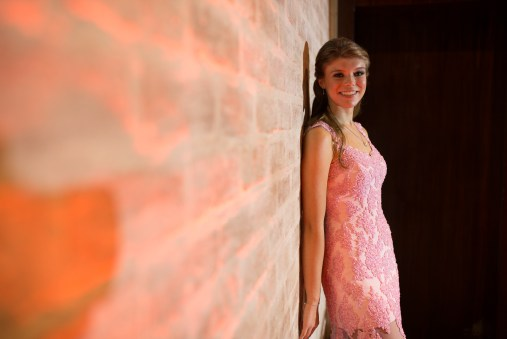 vestido rosa para valsa