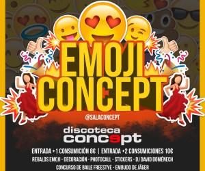 Emoji party Concept