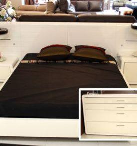 Dormitorio Blanco Brillo