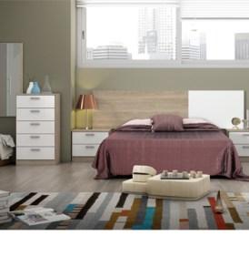 Cabecero Color Sable / Blanco