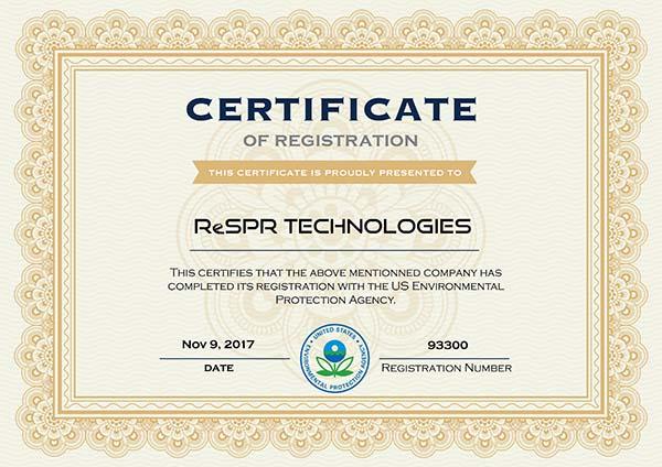 EPA-Certificate-ReSPR-TECH-GrupoHSA