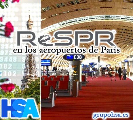 ReSPR aeropuerto Paris GrupoHSA
