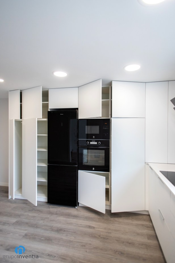 armarios y cajones de cocina